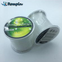 Rompin 500m fishing line Nylon Fishing Line Japan Imported Raw Material Strong Monofilament Thread for Carp Fishing