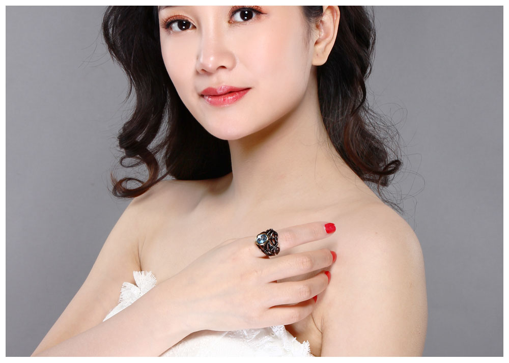 black color rings 07