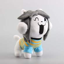 "Hot Sale Undertale Temmie Plush Toy Stuffed Dolls 10"" 25 CM(China)"