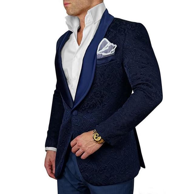 2018-Jacquard-Pattern-Mens-Suits-Custom-Navy-Blue-Slim-fit-Groom-Tuxedo-BridegroomTwo-Piece-Jacket-Pants.jpg_640x640 (1)