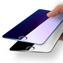 3D Round Curved Edge 4D Tempered Glass For iPhone 7 7 Plus Full Cover Protective Premium Screen Protector Film Safety Red Case