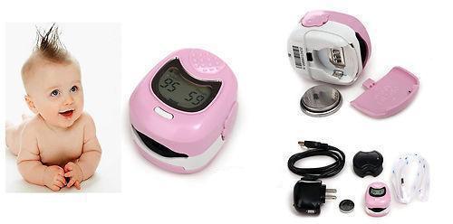CMS50QA CE Kids Child Baby Heart Rate Children Fingertip Pulse Oxygen Blood SPO2 Oximeter Monitor Smile Design<br>