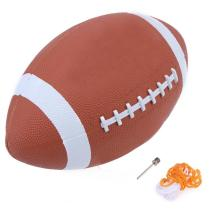 1pcs Soft Rubber AF9 American Football No. 9 Rugby Ball Soft Sport Balls for Child Kids Young Men Women Safety High Quality(China)