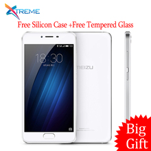 "Hot Sale Original Meizu U10 2.5D Glass 4G LTE MTK6750 Octa Core 3GB RAM 32GB ROM 5.0"" 1280x720 13.0MP Fingerprint ID OTA"