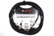 JOYO CM-03 15ft 4.5m Shielded  6.3mm Metal Male Plug Stereo Audio Cable Guitar Bass Keyboard Instruments Connecting Wire