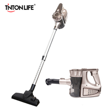 TINTON LIFE battery powered dust vacuum cleaner cyclone dry vacuum cleaner hand held vacuum cleaner wireless(China)