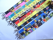 New 50 pcs Japanese anime  Cello Phone key chain  Neck Strap Keys  Lanyards Free Shipping Pw-03
