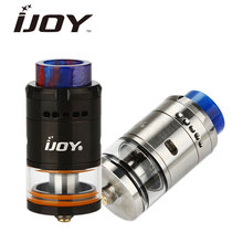 100% Original IJOY RDTA 5 Tank Atomizer 4ml with Resin Drip Tip Top Fill System RDTA5 RTA Vape Tank for Box MOD Battery e-Cig(China)