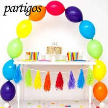Buy 10pcs/lot 10inch Party happy Birthday Wedding Decoration Latex Tail Balloons party supplies globos inflatable baby shower ball for $1.50 in AliExpress store