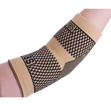 Professional salud cream-coloured volleyball basketball arm sleeve elbow pads free shipping #ST3188