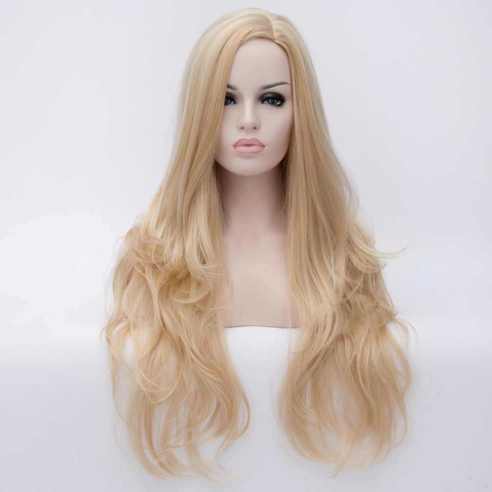 synthetic wigs cheap long blonde wigs synthetic sexy female wigs Nice natural looking women wigs cosplay<br><br>Aliexpress