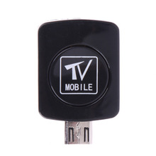 Mini Micro USB Mobile TV DVB-T Tuner with Antenna Digital EPG Mobile TV Tuner Receiver DVB-T Box For Android Phone Tablet PC(China)