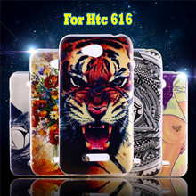 Custom Painted Soft TPU Phone Cases For HTC Desire 616 D616W Case Cover Flexible Silicon Shell Hood Protector Housing Skin Bags