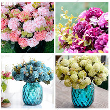 Gorgeous Hydrangea Flower Seed,Garden Ornamental Plants Amazingly Bonsai Flower Seeds China Most Popular 10pcs(China)