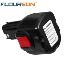 FLOUREON BAT048 9.6V 2000mAh Rechargeable Battery Power Tools Batteries for Bosch Drill PSR 960 Ni-CD(China)