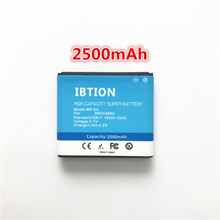IBTION 2500mAh BP-6X Li-ion Phone Battery for Nokia 8800 8860 8800 Sirocco N73i(China)