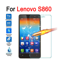 Buy Screen Protector Lenovo S860 Case Tempered Glass Lenovo S860 Glass Film Protective Premium Cover 9H 2.5D Anti-Explosion for $1.34 in AliExpress store