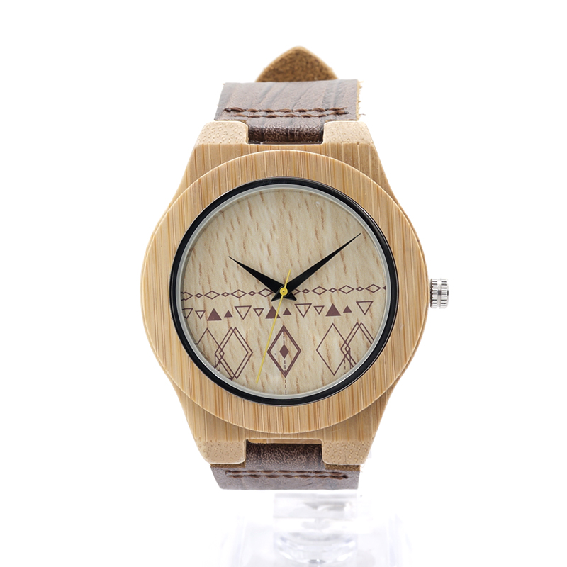 BOBO BIRD Bamboo Watches for Men Handmade Wood Watch #