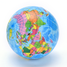 Inflatable Globe Toy Ball Kids Learning and Playing Geography World Map Baby Early Educational Teaching Tool Inflated Beach Ball