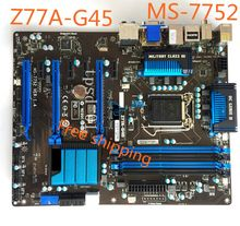 MS-7752 For MSI Z77A-G45 Desktop Motherboard Z77 LGA1155 Mainboard 100% Tested with Wrranty