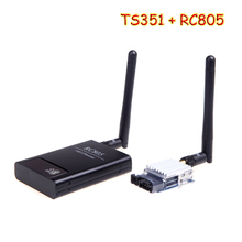 OCDAY 5.8 D FPV 200MW AV Wireless Transmitter 5.8 GHz, the TX Rx Receiver TS351 + RC805 Set 2 KM 2000 M