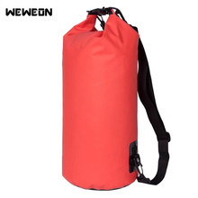 Portable Outdoor PVC Waterproof Diving Bag Travel Dry Bags Kayak Canoe Rafting Bag Waterproof Double-Shoulder Bag(China)