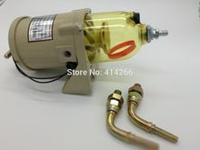 500FG Fuel water separator filter with heater diesel engine truck 2010PM,FREE SHIPPING