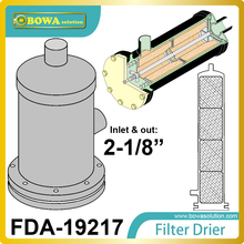 FDA-19217 REPLACEABLE CORE filter driers  has 1/4 NPT Pressure Tapping  and Nickel Plated Steel Cover Plate