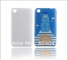 3GS sublimation 3D blanks case for iphone 3GS cover  DHL free shipping 100pcs/lot