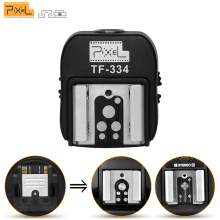 Pixel TF-334 Hot Shoe Adapter For Converting Sony Mi A7 A7S A7SII A7R A7RII A7II Camera To Canon Nikon Yongnuo Flash Speedlite