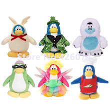 New Kawaii Club Penguin Plush For Girls Boys 20CM Kids Stuffed Animals Toys Children Christmas Gifts(China)