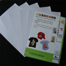 10 Sheets Iron On Transfer PaperFor Inkjet A4 Heat Print Transfer Paper For Light Color Fabric 297x210mm(China)