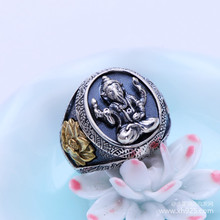 Recommended deals Thailand Thai Silver new handmade men's super personality skull atmospheric models ring free shipping
