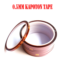 Free shipping High-temperature Resistant Tape(5mm) adhesive tape Kapoton adhesive tape singal sided tape 30M(China)