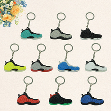 Foamposites Key Chain, Sneaker Keychain Key Chain Key Ring Key Holder Souvenirs, Llaveros Mujer for Woman and Girl Gifts(China)