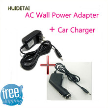 5V 2A DC Wall Charger Power Adapter+ Car Charger/Cord For Pipo S3 S3 M1 Q88 Max M5 M7 M9 pro 3g(China)