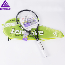 Lenwave Aluminum Alloy Racket Durable Popular Red And Green Tennis Rackets For Men/Women High Quality Racket Tennis(China)