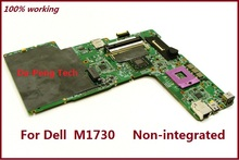 Laptop Motherboard XPS M1730 For Dell F513C 0F513C CN-0F513C intel non-integrated system board with fully tested