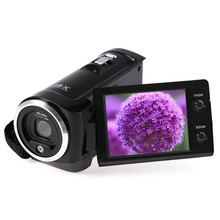 Amkov Mini Video Camera for Home 720P 16 MP HD Digital DV Video Camera 2.7'' TFT LCD Screen Portable Digital Video Camcorder