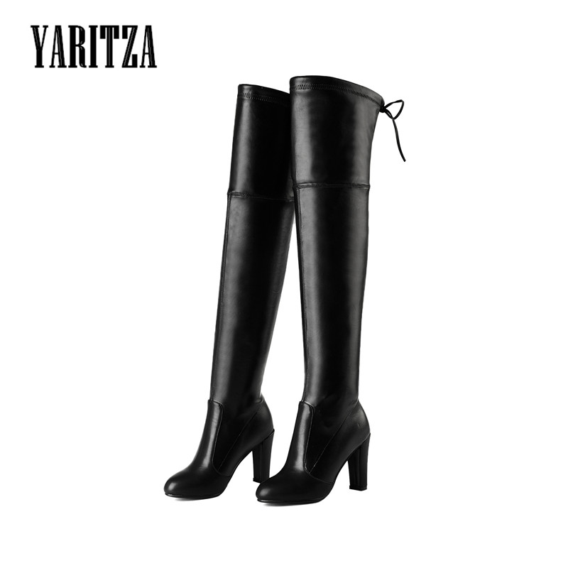 YARITZA 2017 New Arrival Women Thigh High Boots Over the Knee High Quality Winter Spring Boots Women Thin Leg Fashion Shoes<br><br>Aliexpress