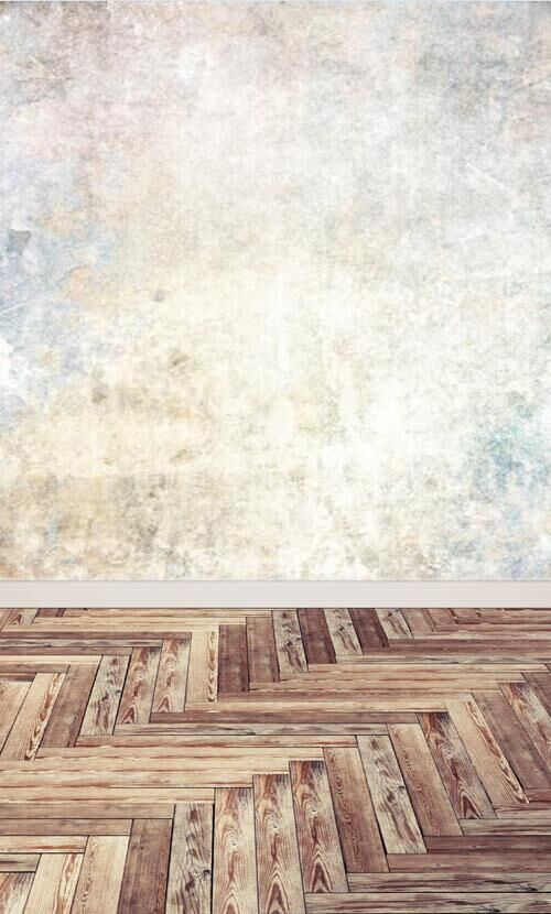 Vintage Cement wall and wooden floor photography backdrop xt4363<br><br>Aliexpress