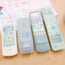 Y206 Silicone Protective Case Cover Skin For TV Remote Control Dust Cover Holder Organizer Can Be Cleaned Home Decoration(China)
