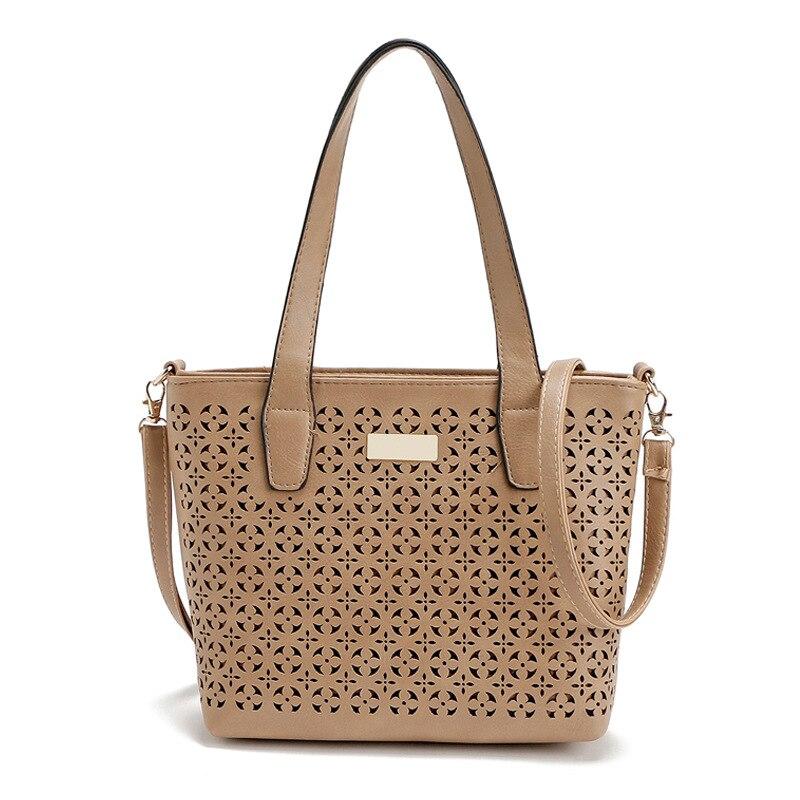 2017 Luxury Handbags Women Bags Designer Shoulder Bags Women Messenger Bags Female Hollow Out Solid Handbags bolsa feminina<br><br>Aliexpress