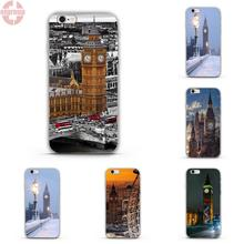 "EJGROUP For Apple iPhone 5 5S SE 4.0"" inch Soft TPU Silicon Best Cases Uk London Big Ben"