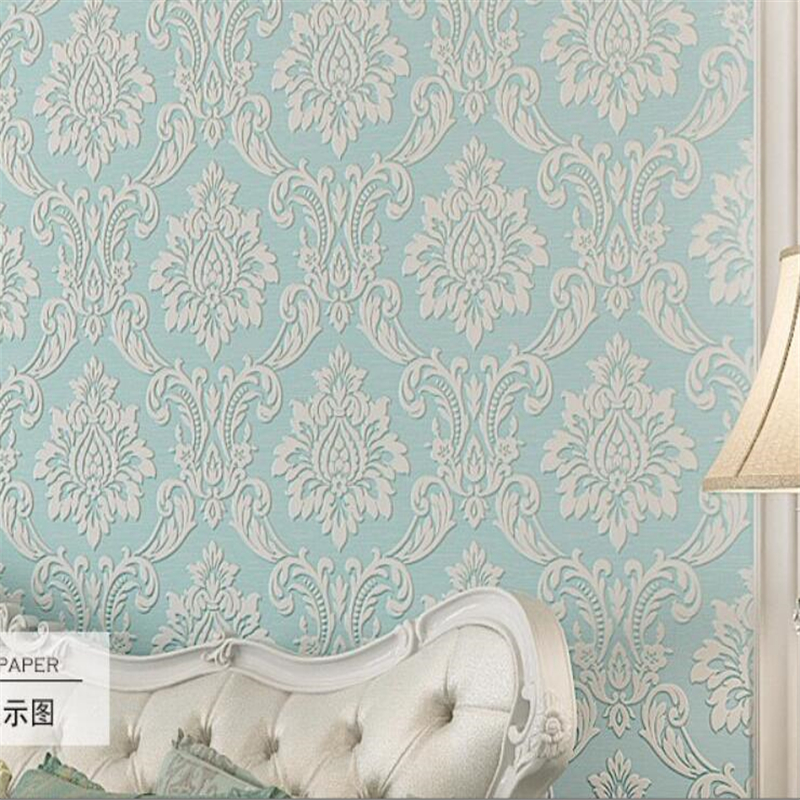Beibehang European style embossed wallpaper home decoration wallpaper  living room background wallpaper for walls 3 d wallpaper<br>