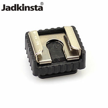 Jadkinsta Metal Hot Shoe Mount Adapter with 1/4 for Umbrella Holder Flash Bracket Wireless Trigger(China)