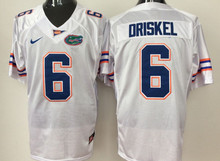 Nike Florida Gators #6 DRISKEL College Ice Hockey Jerseys Size M,L,XL,XXL,3XL(China)