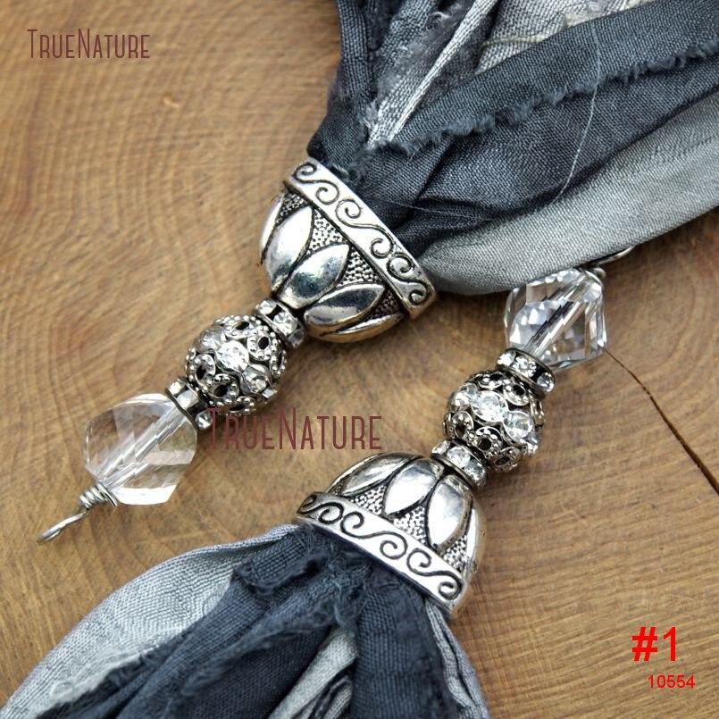 20180303-PM10556- Gray Shades Sari Silk Tassel Pendant_1