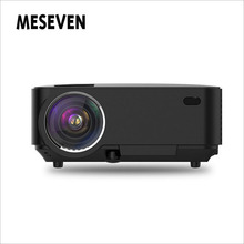 2200 Lumens(130ANSI) Mini TV LED Video Projector Andriod 4.4 Wifi Bluetooth Multimedia for Home Theater Support Red Blue 3D