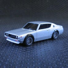 1:64 Nissan Skyline GT-R KPGC110 alloy car The second generation of the God of war toys for Baby bulk freeshipping